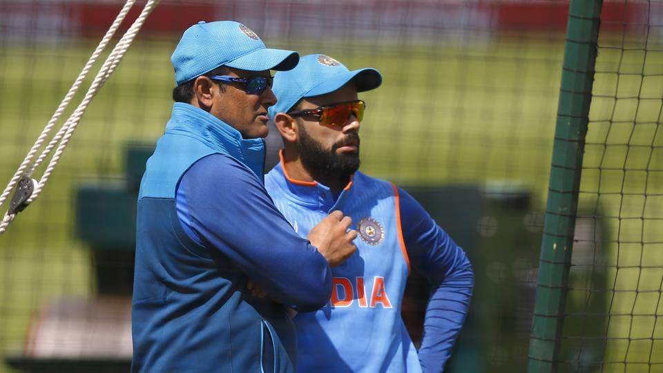 India coach Anil Kumble and captain Virat Kohli would hope to keep off-field distractions aside and continue winning momentum against Sri Lanka in the ICC Champions Trophy. (REUTERS)