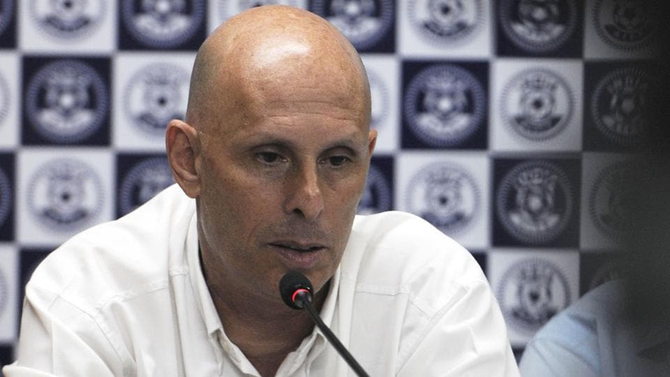 Stephen Constantine is the head coach of the India football team.
