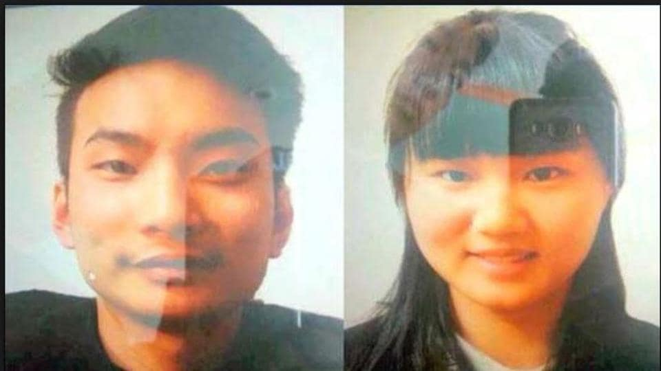 File photo of the two Chinese nationals who were kidnapped last month from Quetta city of southwest Pakistan. The Amaq agency said on Jun 8, 2017 that the Islamic State had killed the two Chinese nationals.