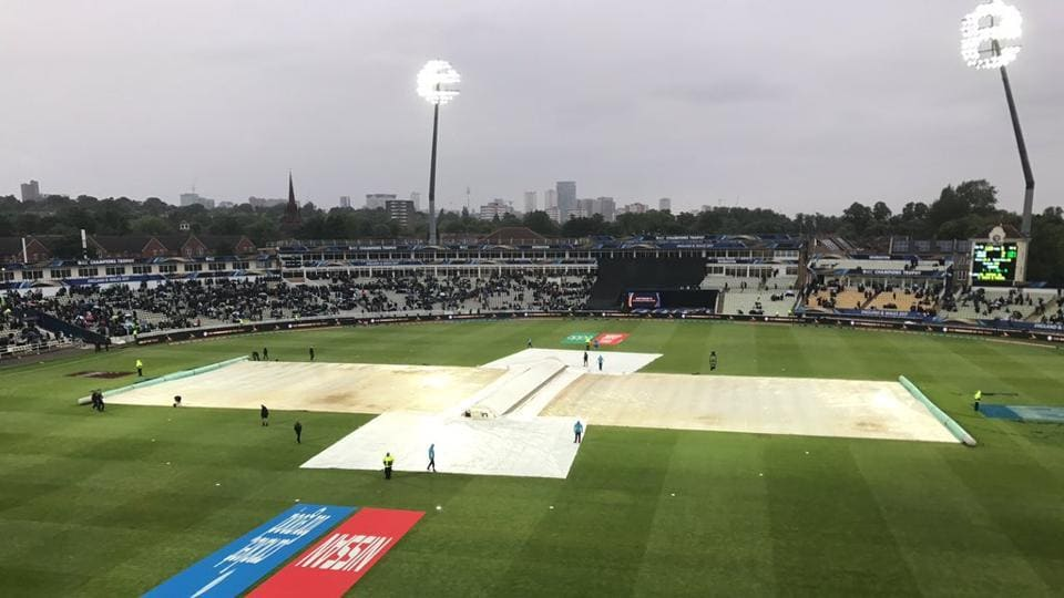 With rain refusing to relent, Pakistan were declared winners after being ahead on DLS.  (Twitter)