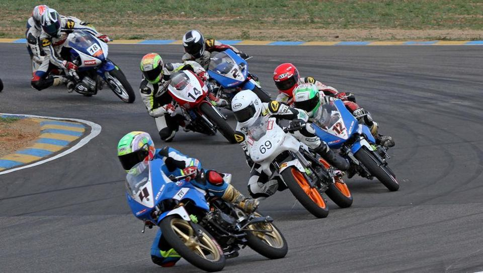 A women's segment will be introduced in the Indian National Motorcyle Championship this weekend in Coimbatore.
