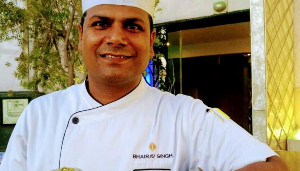 Chef Bhairav Singh started his journey in the Konkan region in Maharashtra.