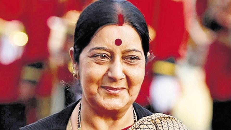 Sushma Swaraj,External affairs ministry,Twitter