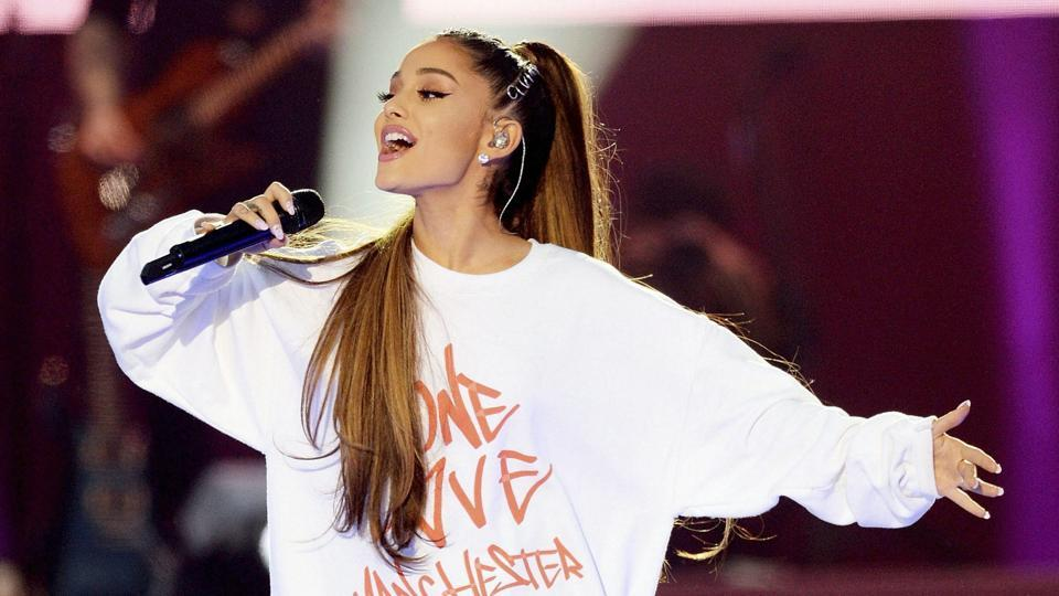 On June 4, 2017, singer Ariana Grande performed at the One Love Manchester tribute concert in Manchester.