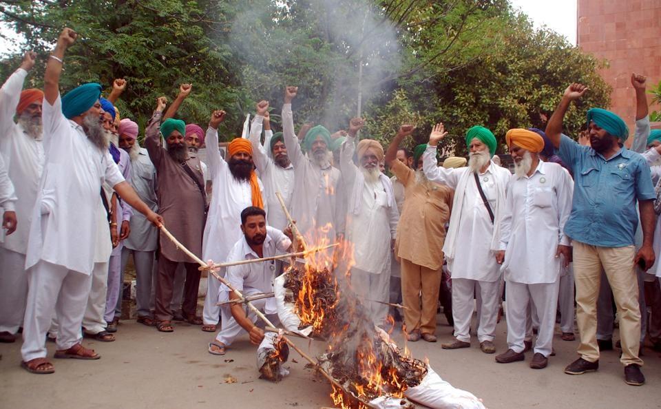 Farmer protest,Punjab farmers,MP farmers