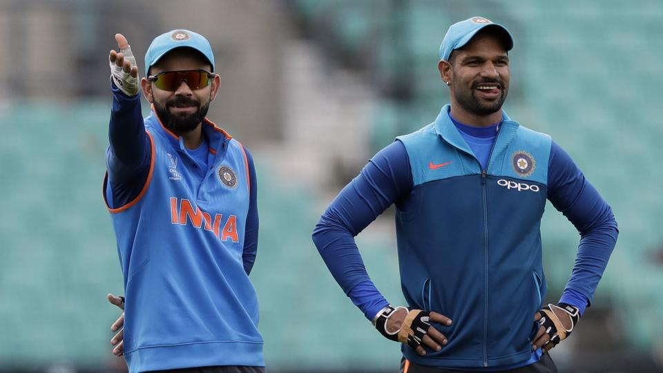 Shikhar Dhawan's share of BCCI's revenue from international games is higher than Virat Kohli's earnings from the same.