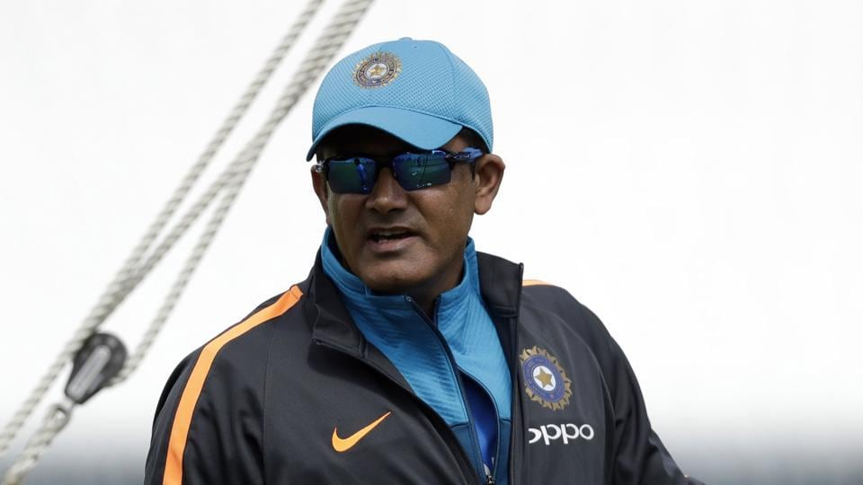 Anil Kumble's future remains uncertain as India aim to defend the ICC Champions Trophy title.
