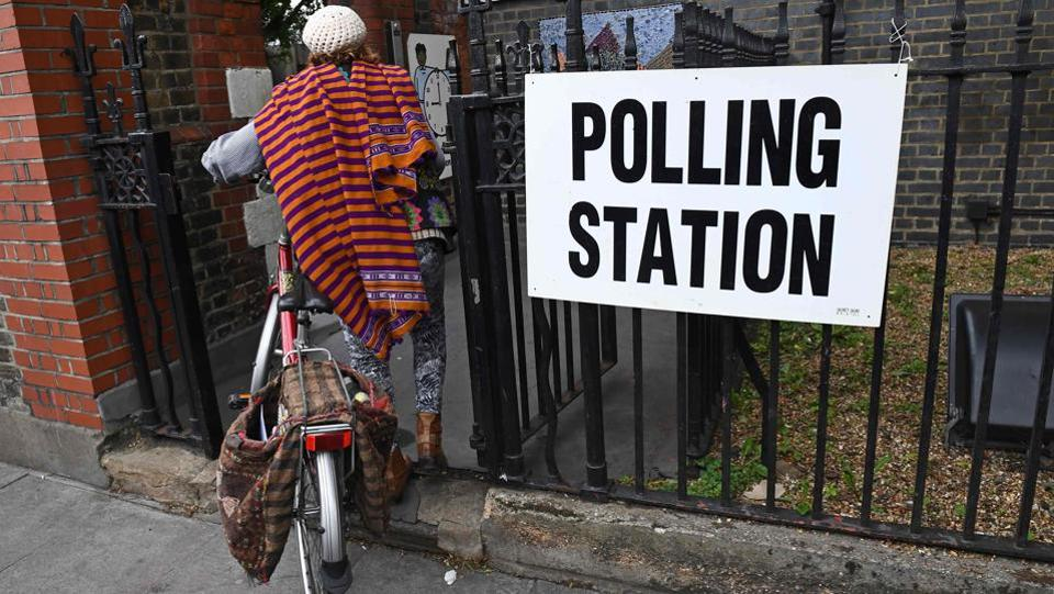 People are voting across Britain to pick their next Prime Minister. (Justin Tallis / AFP)