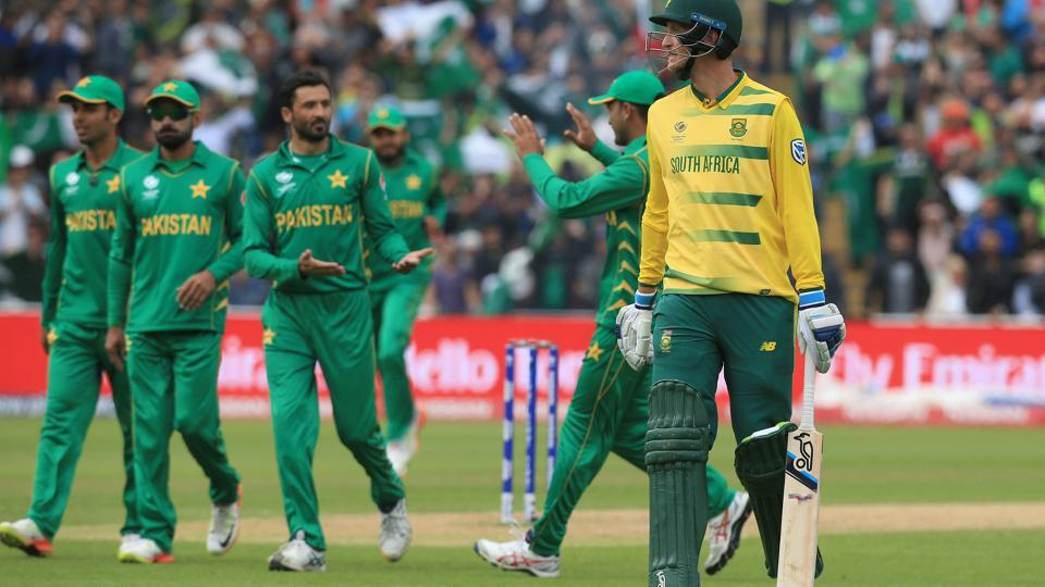Pakistan defeated South Africa by 19 runs (D/L method) in the ICC Champions Trophy 2017.