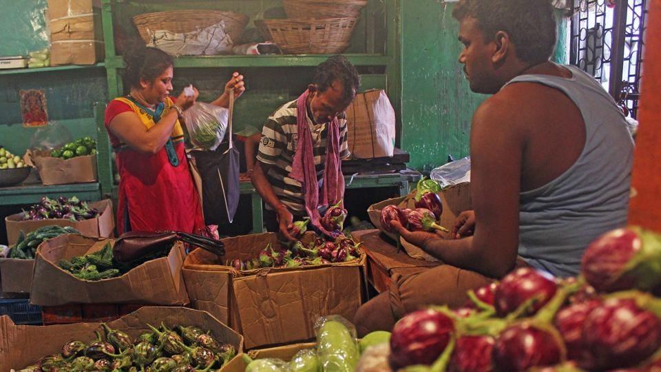 The Dadar market on Wednesday.
