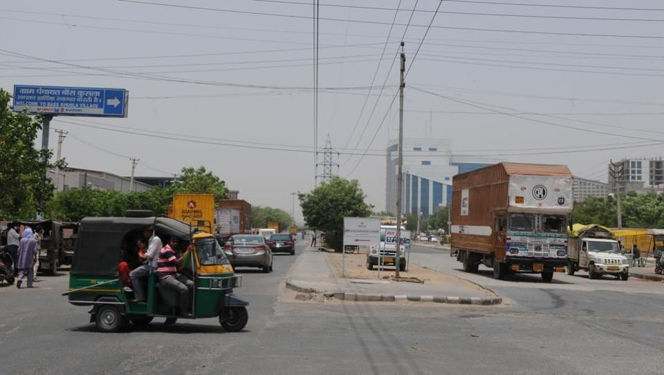 The Bas Kushla chowk from where the victim took the lift in a truck on the night of the incident.