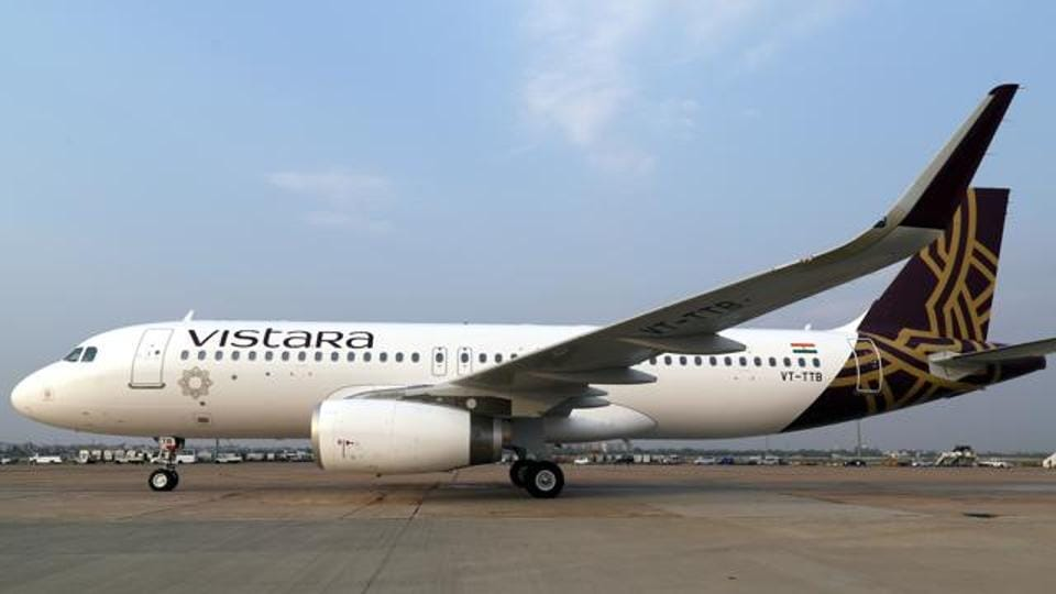 A Mumbai-bound Vistara Airlines aircraft  was ordered to abort take off at the eleventh hour to make way for an Express India flight from Dubai to land at the Lucknow airport on Thursday.