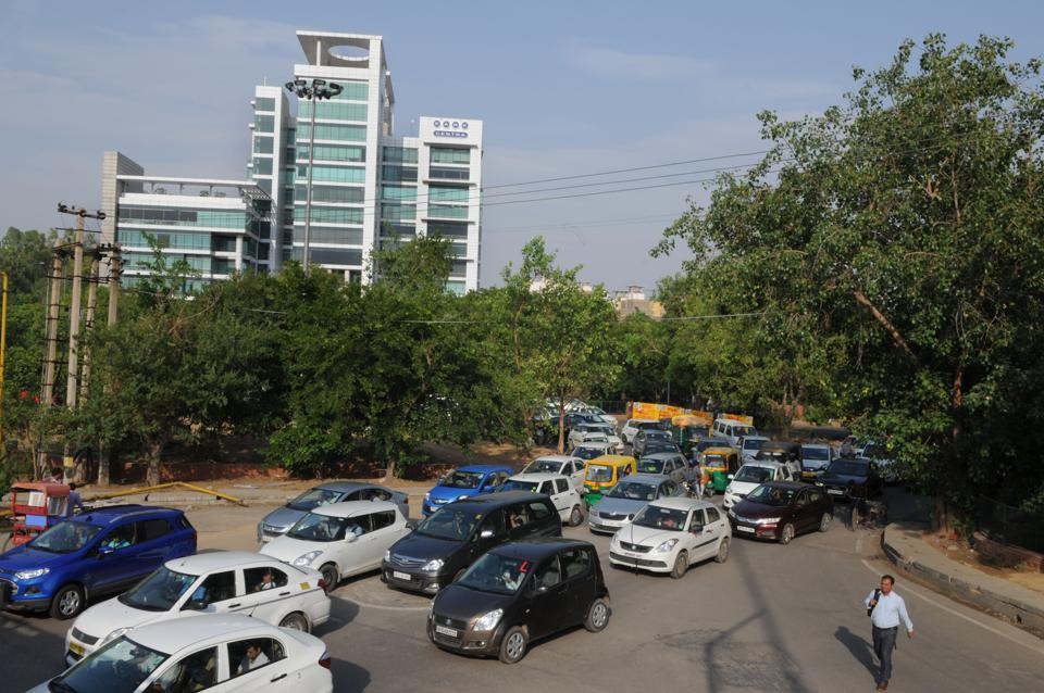 NHAI,exit 8,Delhi-Gurgaon expressway