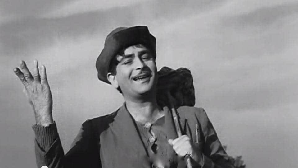 Awaara,Mera Joota Hai Japani,Raj Kapoor