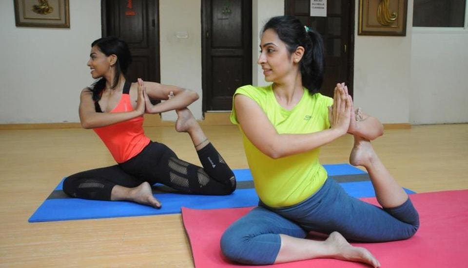 The study showed that 52% women who included yoga in their exercise routines showed emotional improvement  as compared to 42% in those who didn't.