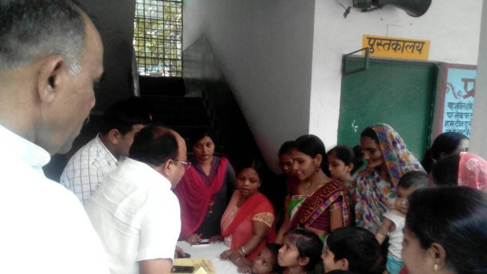 The camp was held by the district education department of Gautam Budh Nagar.