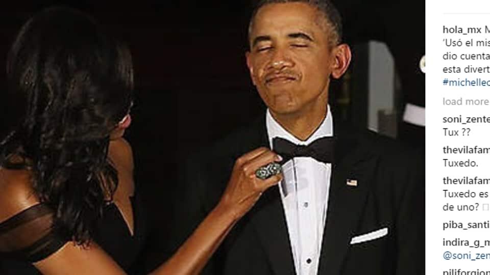 Michelle Obama,Barack Obama tuxedo,US President