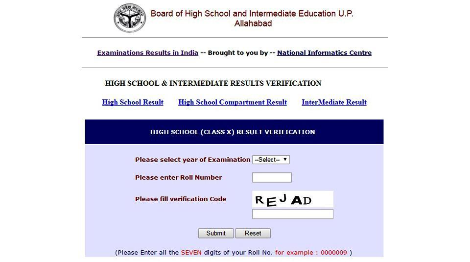 The UP Board announced the results of the high school or Class 10 and intermediate or Class 12 board examinations 2017 on Friday.
