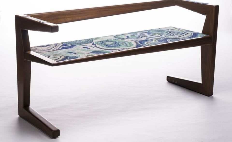 At a new show, furniture becomes art as it celebrates handicraft techniques.