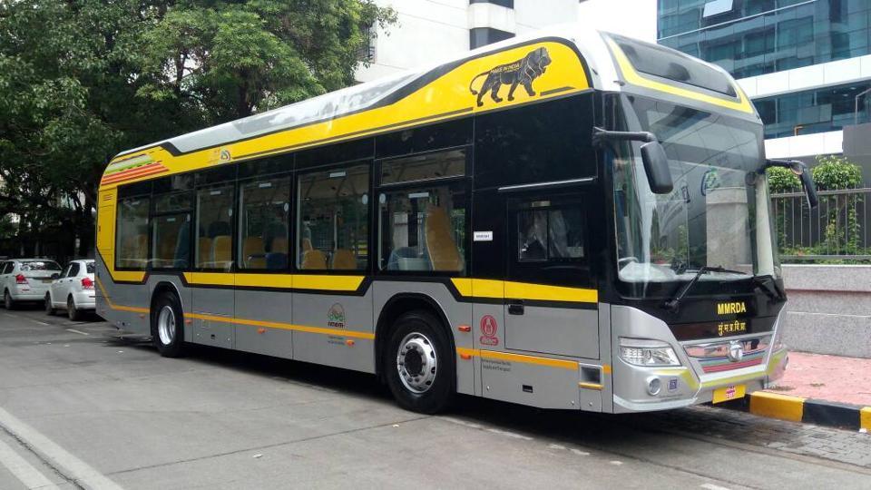 Mumbai gets 25 new hybrid buses | mumbai news | Hindustan Times