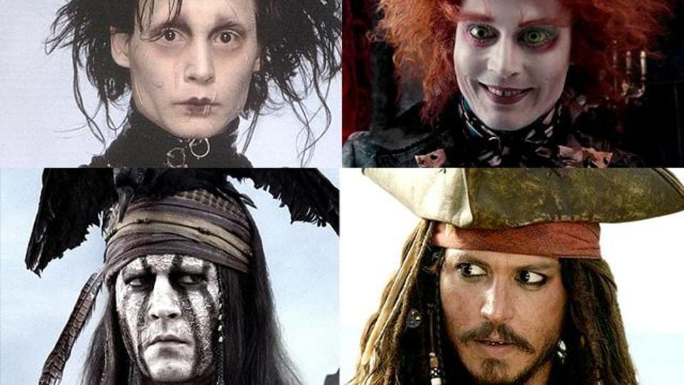 We celebrate Johnny Depp's birthday with a throwback to his craziest roles.