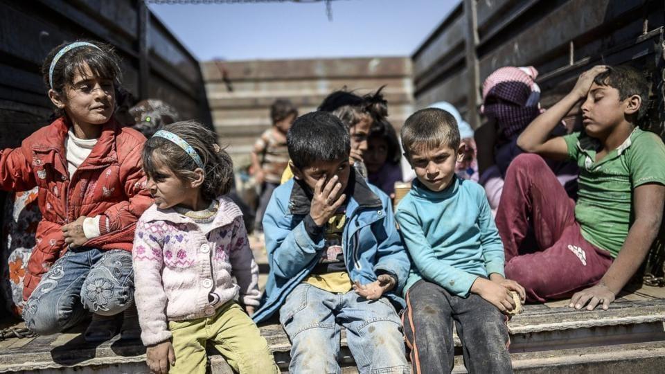 UNICEF,Syria,Syrian Children