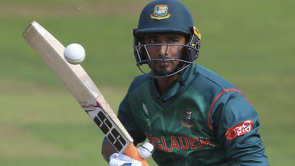 Bangladesh's Mahmudullah in action against New Zealand in their ICC Champions Trophy Group A match. Get full cricket score of New Zealand vs Bangladesh here.