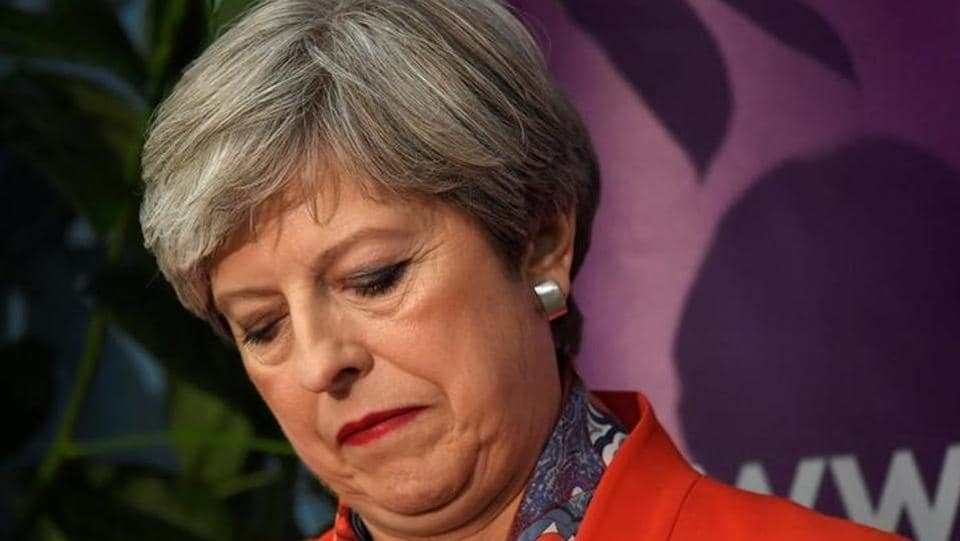 Britain's Prime Minister Theresa May awaits results of the vote in her constituency after the 2017 general elections. Expecting a stronger mandate ahead of the upcoming Brexit talks with the EU, PM May's gamble appears to have backfired with exit polls  predicting Conservatives losing overall majority in the British parliament, further muddying the prospect of a smooth British departure from the EU. (Toby Melville/Reuters)