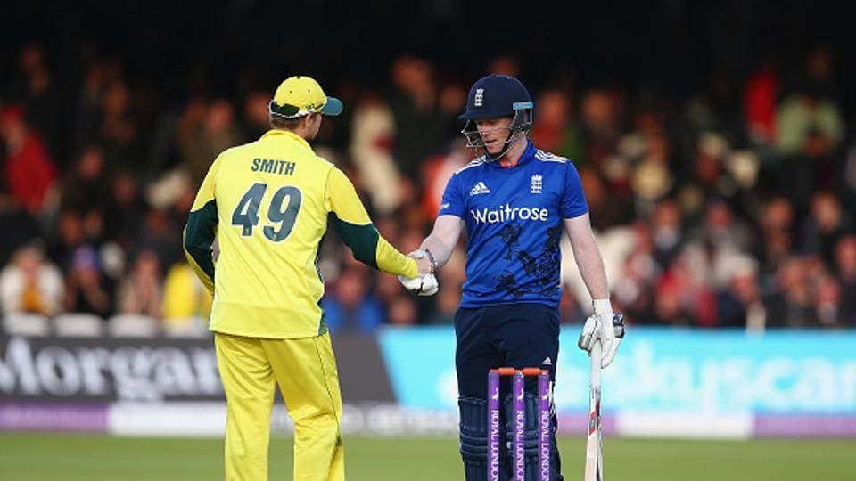 With two points from their two matches, Australia now have to beat England to be certain of a place in the semi-finals of the ICC Champions Trophy.