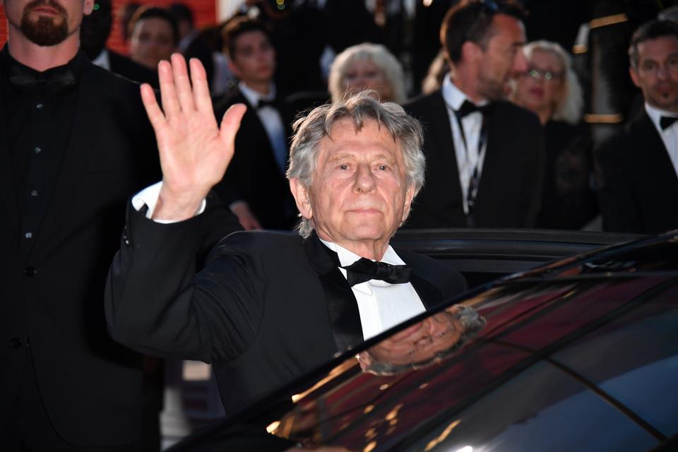 Roman Polanski at the Cannes Film Festival on May 27.