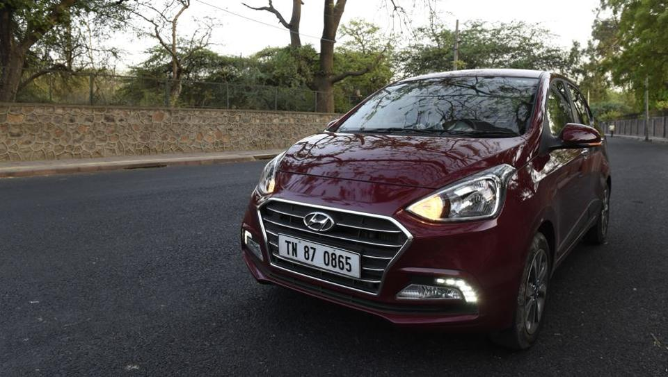The new Hyundai Xcent has got more chrome on the front and the rear to make it feel premium. But is it?