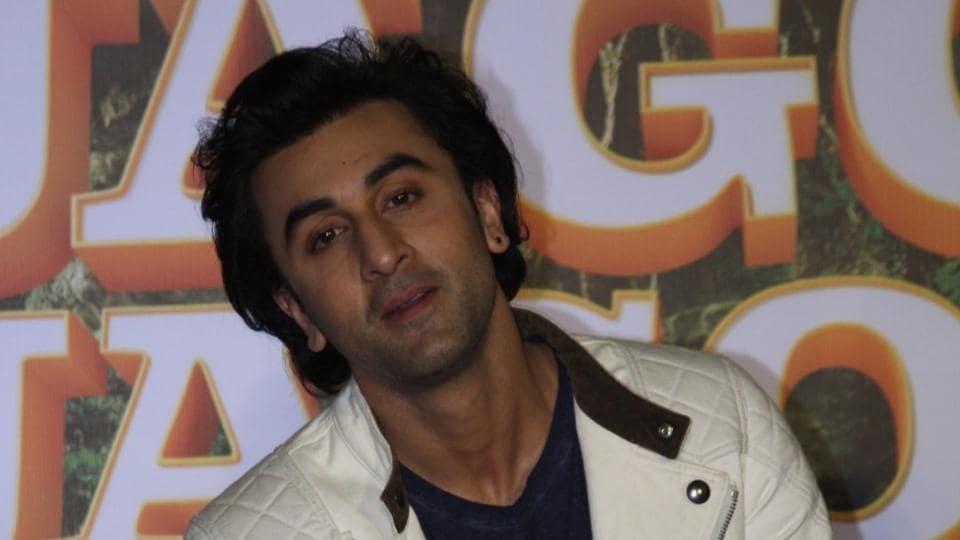 Actor Ranbir Kapoor during the song launch of his upcoming film Jagga Jasoos in Mumbai.