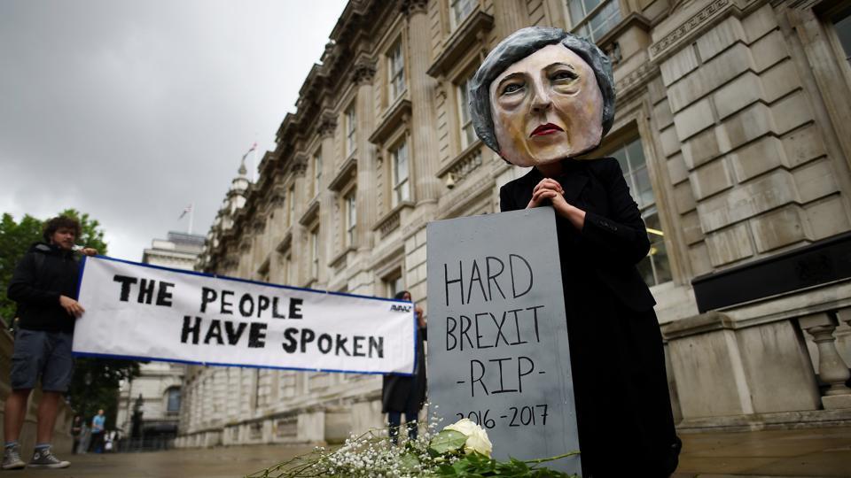 UK election,UK hung Parliament,UK Brexit talks