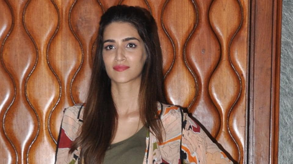 Actor Kriti Sanon says she wanted to debut with a film where she had a chance to showcase her acting talents.