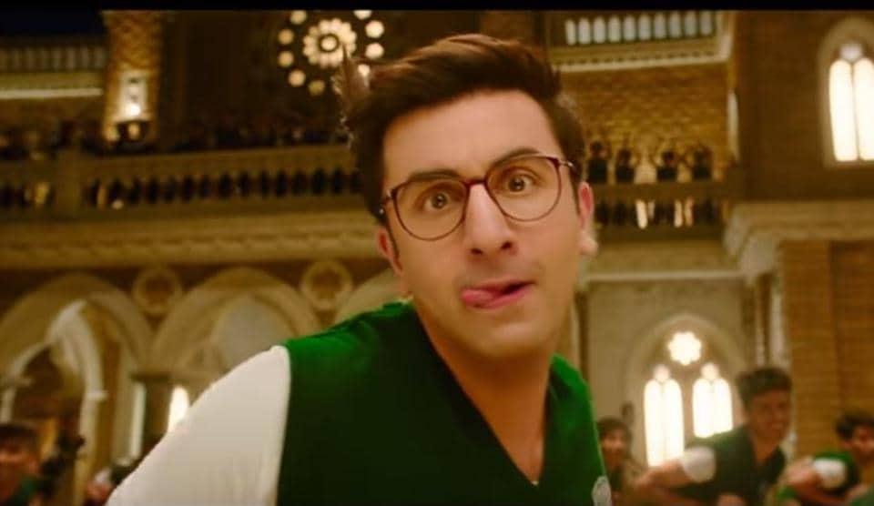 Ranbir Kapoor as a school boy in Jagga Jasoos.