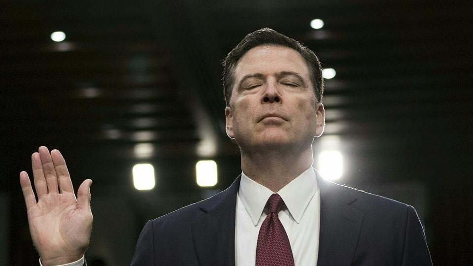 Donald Trump,James Comey,FBI