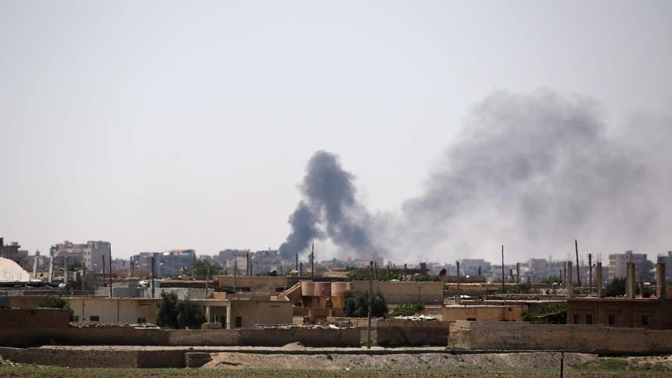 Syria,Airstrikes,Raqa
