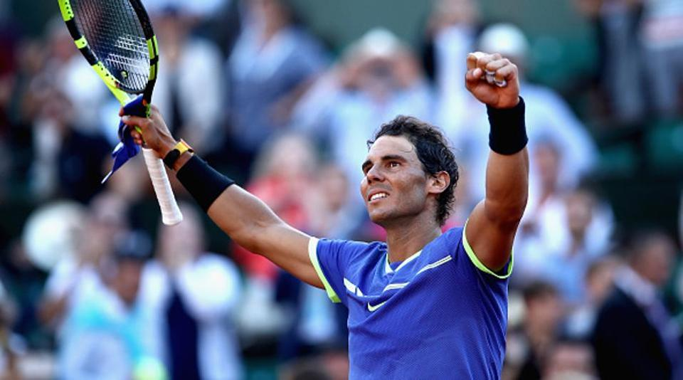 On the other hand, Rafael Nadal marched into his 10th French Open final after demolishing Dominic Thiem 6-3, 6-4, 6-0 on Court Philippe Chatrier on Friday. (Getty Images)
