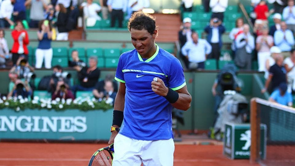 Nadal has dropped only 29 games to reach the final -- surpassing his previous best of 35 in 2012. (Getty Images)