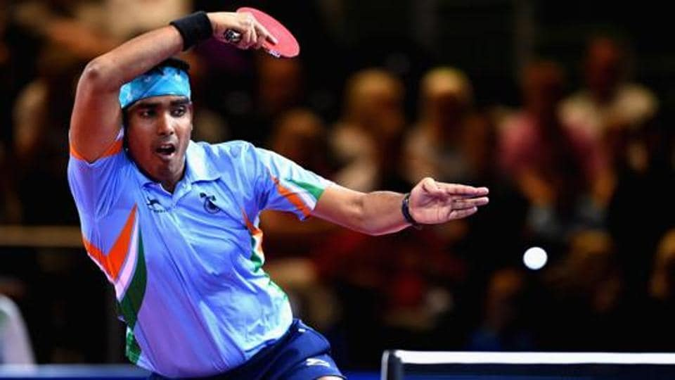 Sharath Kamal, who led the Indian Table Tennis contingent for the world championships in Dusseldorf, has been selected by the RP-SG Mavericks in the Ultimate Table Tennis tournament which will be conducted for 10 years.