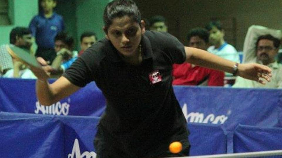 Pooja Sahasrabudhe in action.