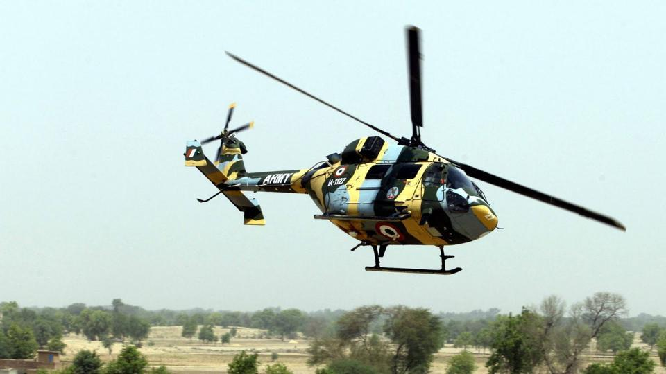 There are four weapon stations on the helicopter with a turret gun in its nose area. Weaponised Dhruv helicopters are equipped with air-to-air missiles, 70 mm rockets and 20 mm turret guns.