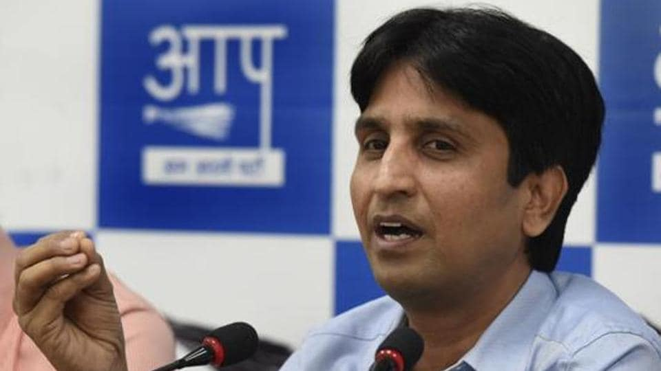 """Vishwas was last month made Rajasthan in-charge of the AAP after he threatened to quit the party over attacks on him by suspended legislator Amanatullah Khan, who called him a """"BJP agent""""."""