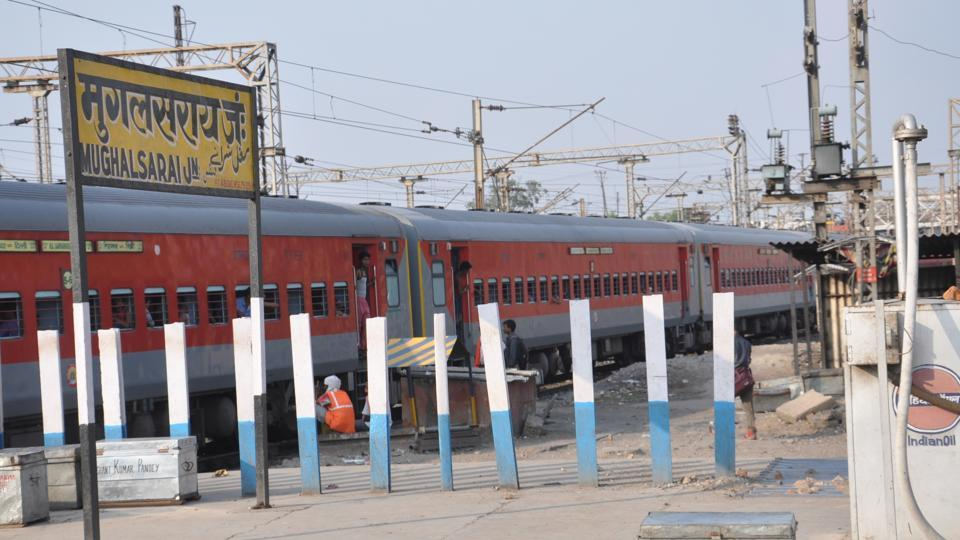 Yogi Adityanath government,Deendayal Upadhyaya,Mughalsarai railway station