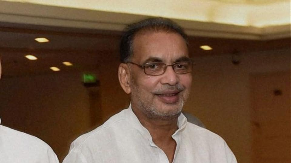 """The incident took place when the union minster Radha Mohan Singh left the state guest house and was on his way to attend a programme on """"Sabka Sath Sabka Bikas"""" in Jatani."""