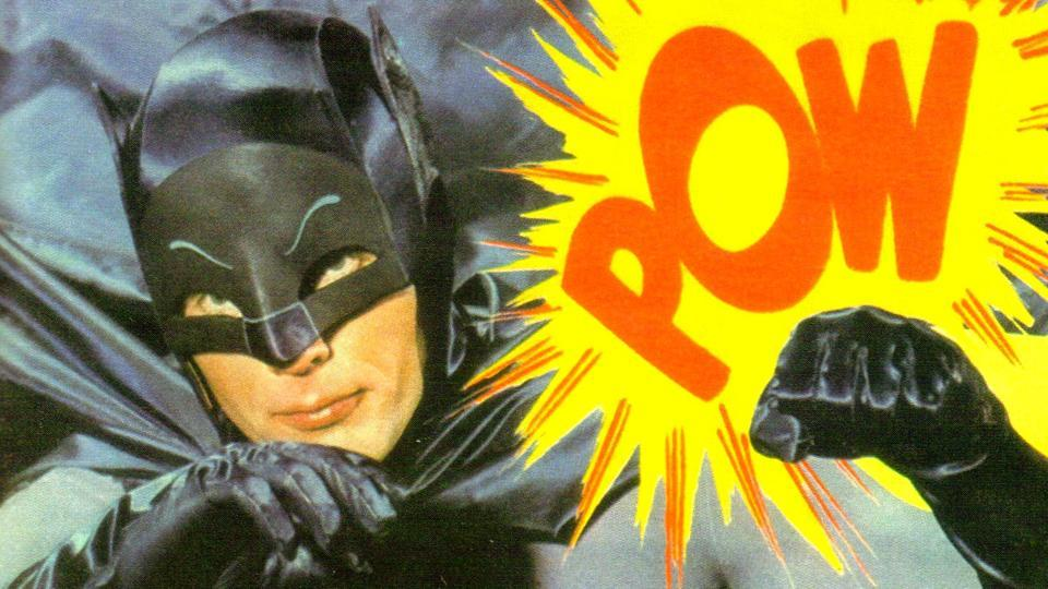 Adam West was most famous for playing Batman in the 1960s' TV show and movie.