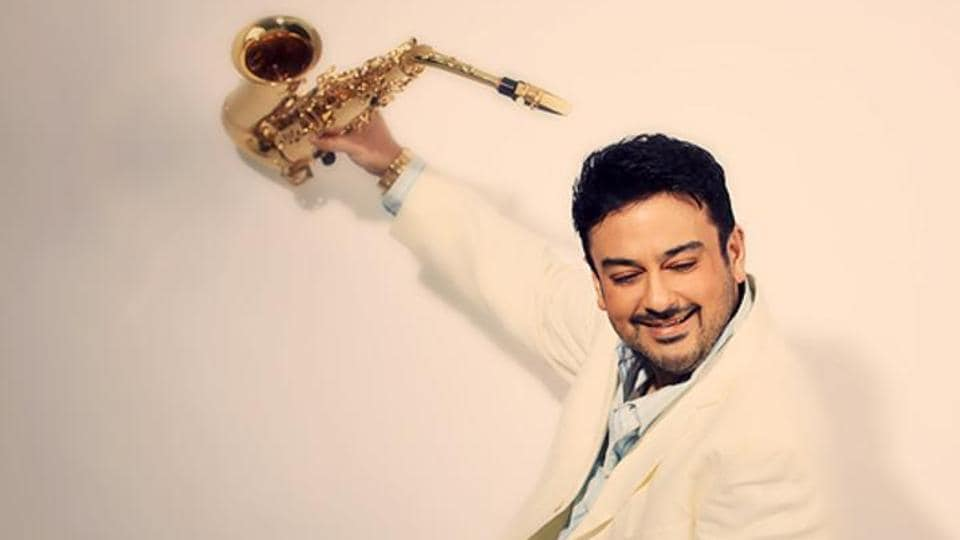 Singer Adnan Sami's father encouraged him to learn Indian classical music on the piano.