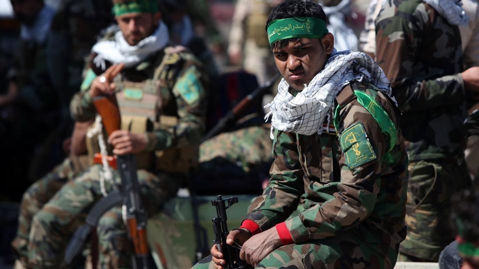 Iran,Iran backed,Iraq Shia forces