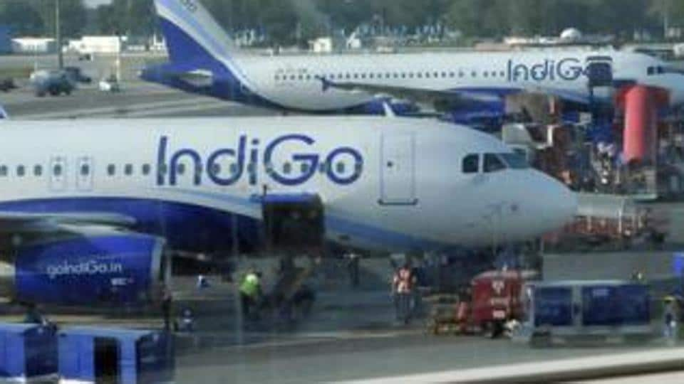 A man was arrested for allegedly making lewd gestures onboard an IndiGo flight.