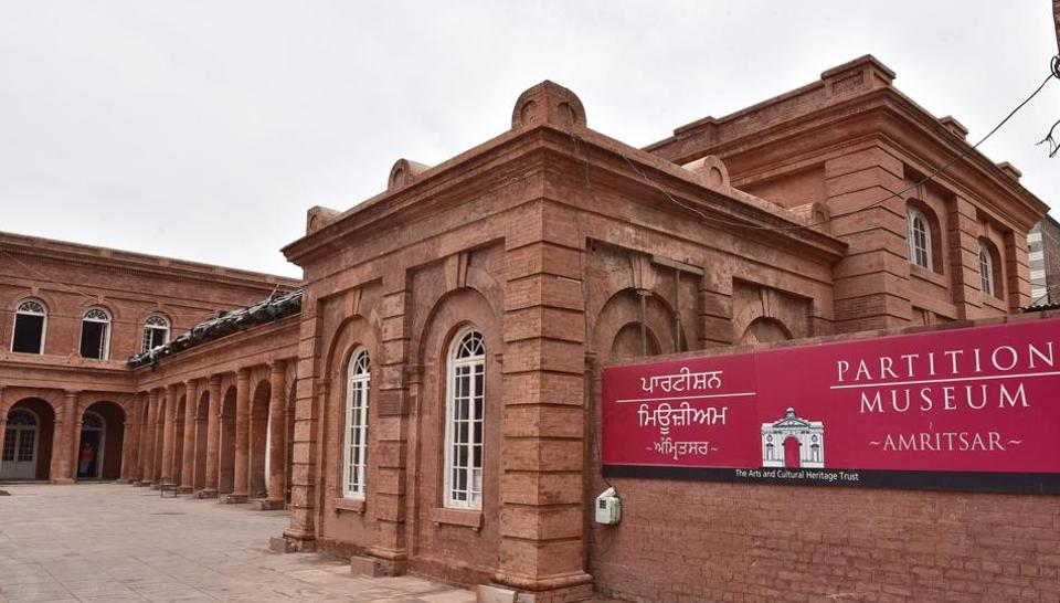 Partition Museum at the historic Town Hall building of Amritsar would be inaugurated by Punjab chief minister Captain Amarinder Singh on August 17. (Gurpreet Singh/HT)